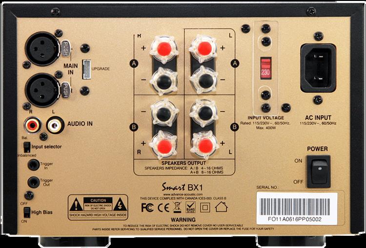 ADVANCE ACOUSTIC SMART BX1 MIDI-SLUTSTEG