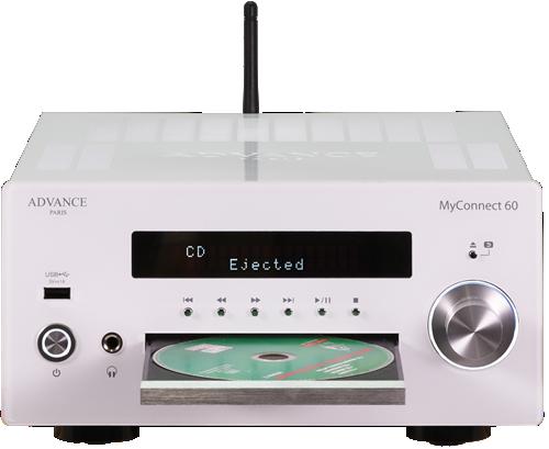 ADVANCE ACOUSTIC MYCONNECT 60 NÄTVERKSRECEIVER MED CD