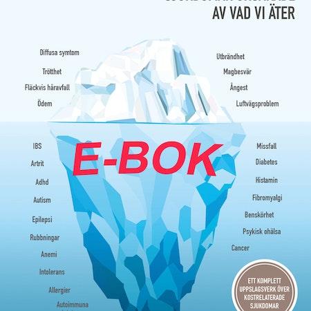 Kampanj! Hälsoproblem & sjukdomar orsakade av vad vi äter - Ebok!