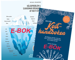 Kampanj! Paket med e-böckerna: Hälsoproblem och Stora Kosthandboken!