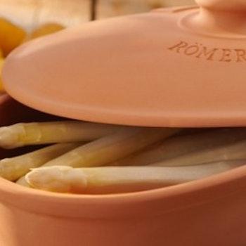 Römertopf Sparrisgryta Asparagus 1 kg Glaserad