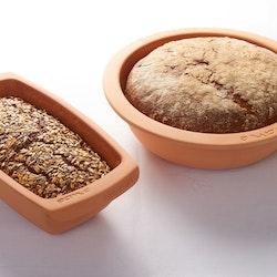 Römertopf Bröd och Bakform Rund 31 cm 3 liter Glaserad