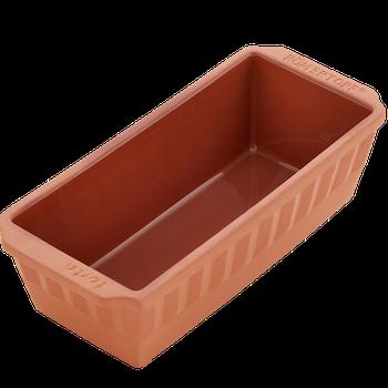 Römertopf Bakform Sockerkaksform Avlång 31 cm 1,7 liter Glaserad