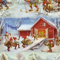 Julklappsinslagning