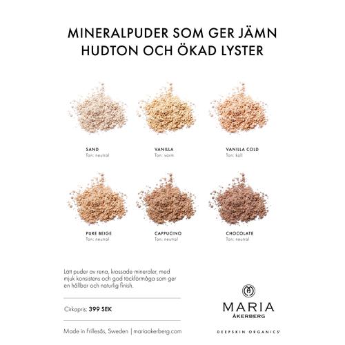 Naturligt Mineralpuder - 6 nyanser - Maria Åkerberg