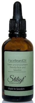 Face Beard Oil - Återfuktande ansikts- & skäggolja för män - Stiligt 50ml