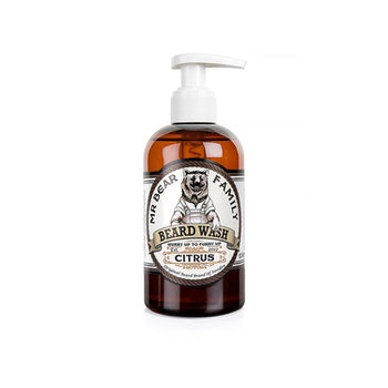 Beard Wash Citrus - Skonsam för torr/känslig hud - Mr Bear Family 250ml