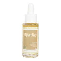 Äkta Arganolja - Återfuktande & vårdande hårolja - Hjärtligt 30 ml