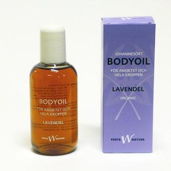 Bodyoil med Johannesört & Lavendel - Ansikts- & kroppsolja