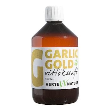 Garlic Gold - Vitlössaft - Bibehåller den bakteriella balansen i tarmarna