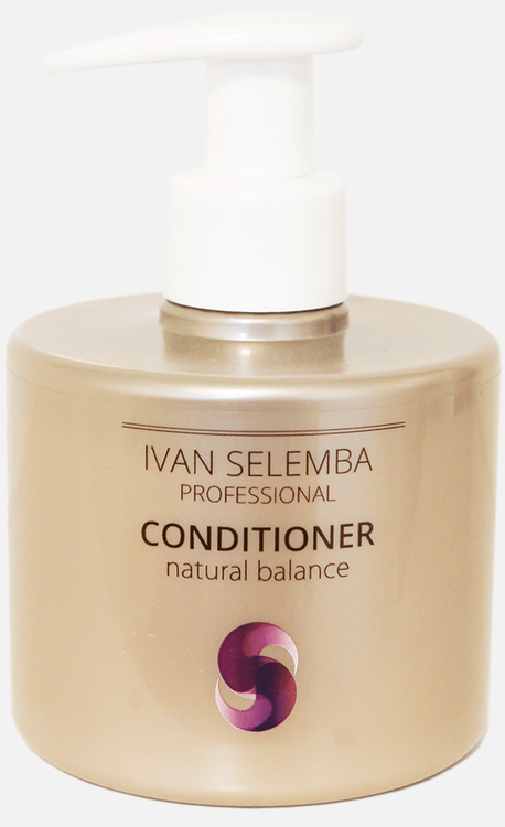 Natural Balance Conditioner -Naturligt Antifrizz Balsam - Ivan Selemba 300 ml