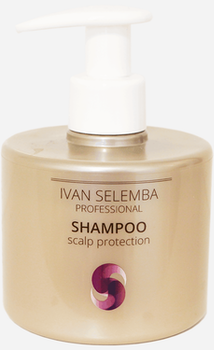 Scalp Protection Schampoo  - Schampoo som Dämpar Irritation & Stärker hårbotten - Ivan Selemba 300 ml