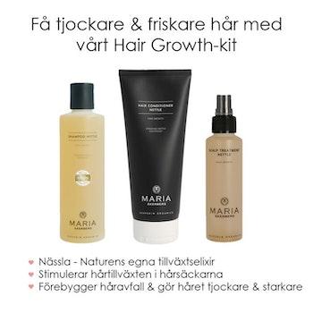 Hair Growth-Kit - Förebygg håravfall & få tjockare hår - Maria Åkerberg