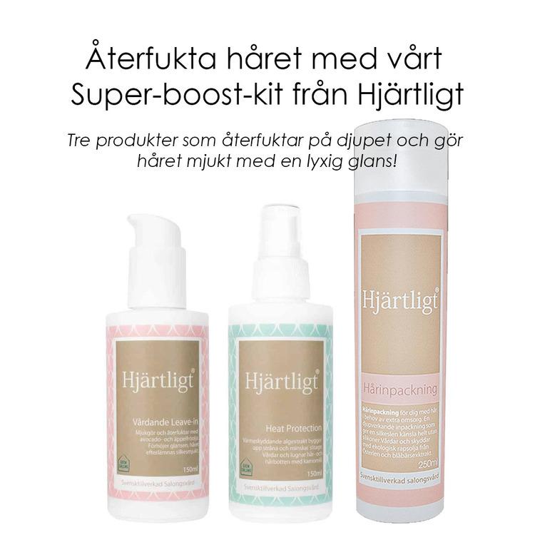 Super-boost-kit - Återfuktande trio för håret - Hjärligt