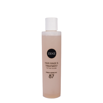 Hair Rinse & Treatment no.87 - rensning för hår och scalp - Zenz Organic 200 ml