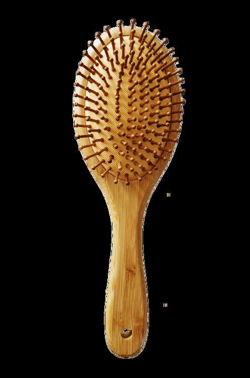Handgjord Massageborste - Antistatisk Ekologisk Naturborste XL