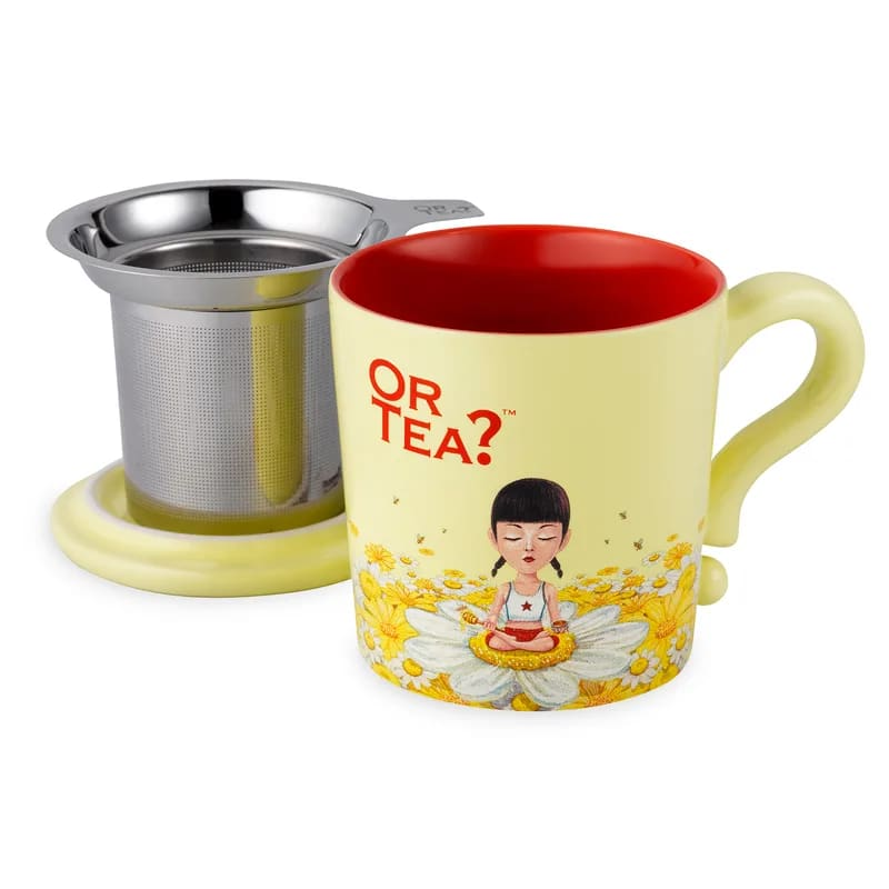Or Tea? - Infuser Temugg Bee Calm i Keramik