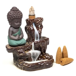Backflow Rökelsehållare - Little Buddha