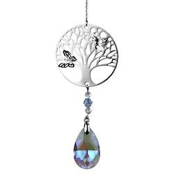 Tree of Life Kristallpendel och regnbågsprisma - feng shui