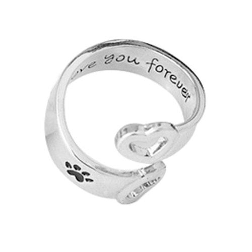 """Ring (Hund) """"love you forever"""""""