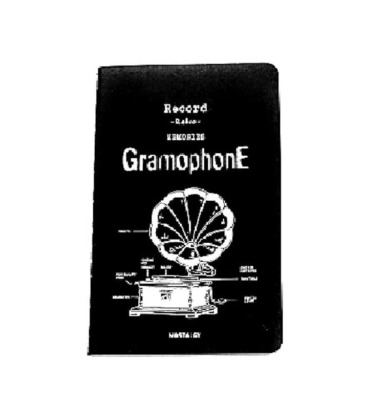 Anteckningsbok, Gramophone