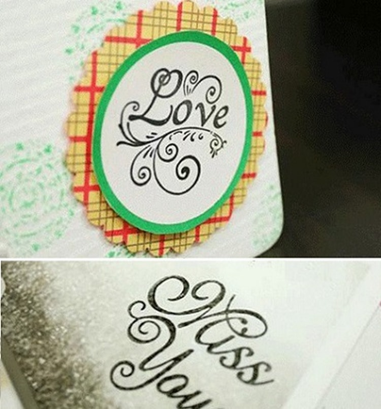 "Stämpel ""Love"""