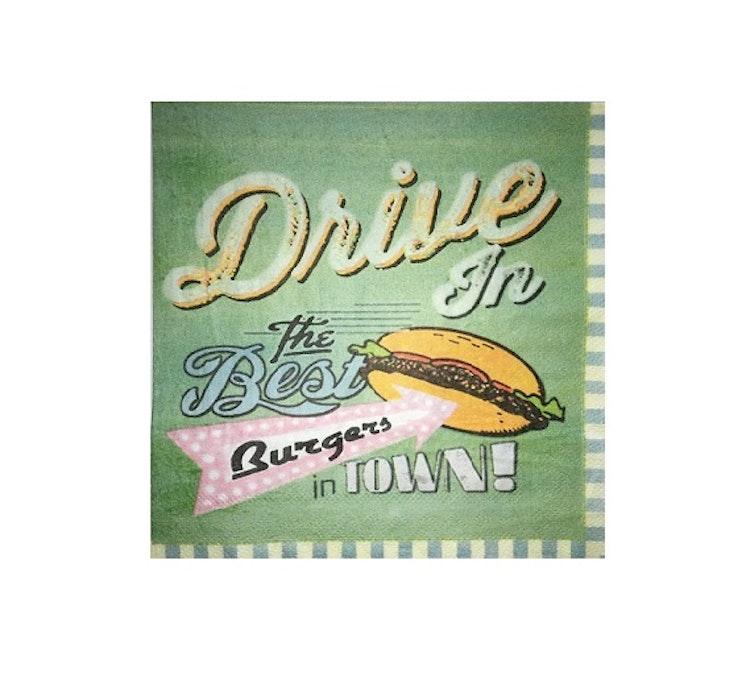 "Servetter ""Drive in"""