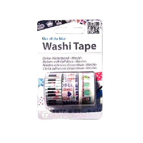 "Washi tejp 3-pack ""Piano"""
