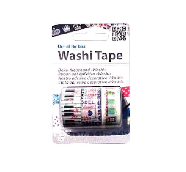 "Washi tejp 3-pack ""Piano"""