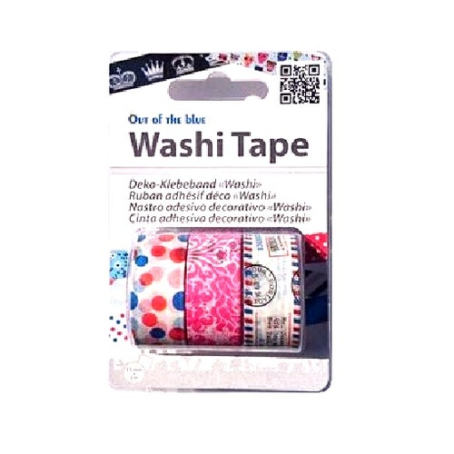 "Washi tejp 3-pack ""Letter"""