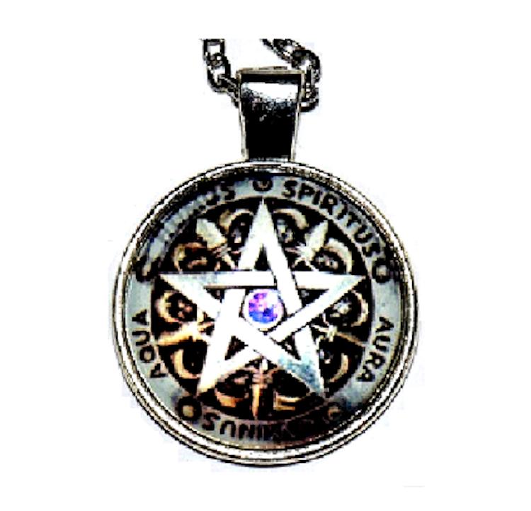 "Halsband ""Pentagram"""