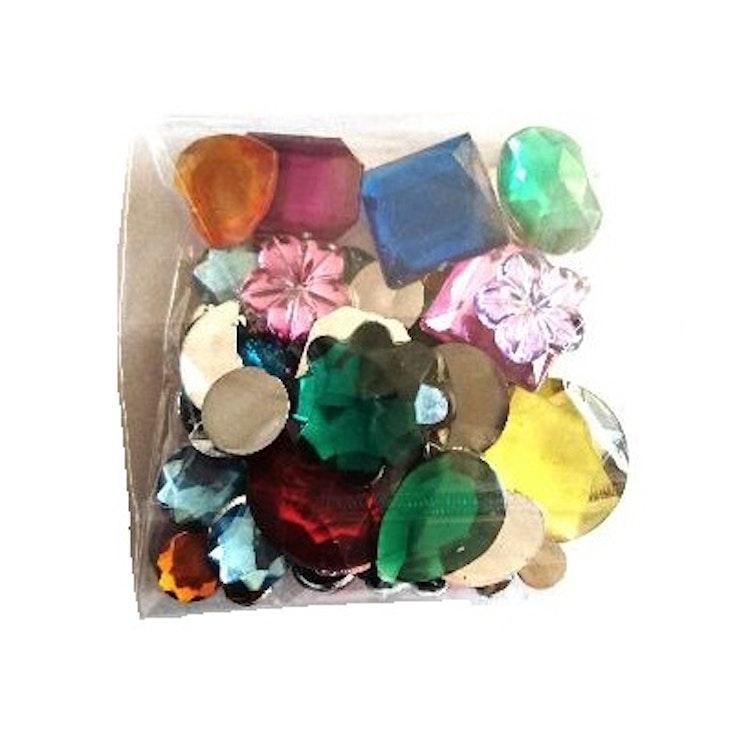 Påse med kristallstenar