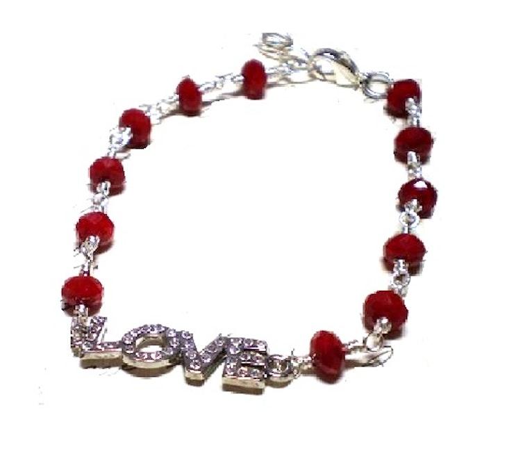 """""""LOVE"""" smyckesdel"""