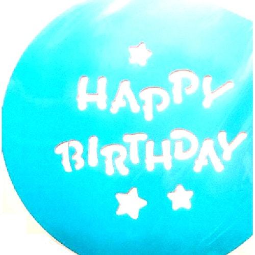 """Tårtschablon """"Happy Birthday"""""""