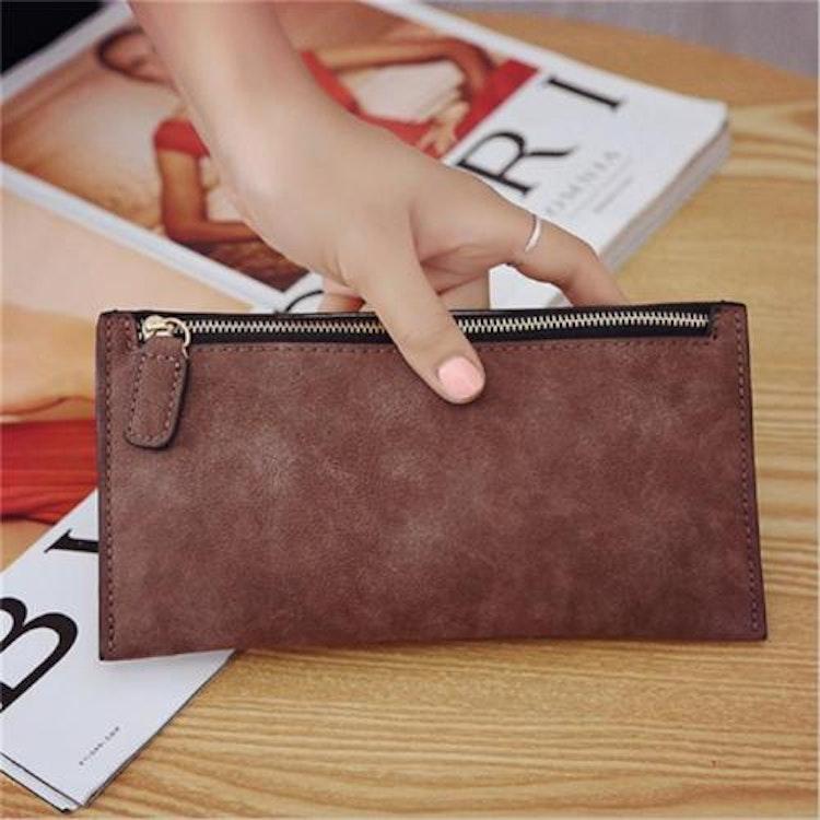 Clutch / Plånbok / Mobilväska (brun)