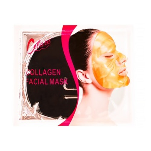 Ansiktsmask collagen, svart