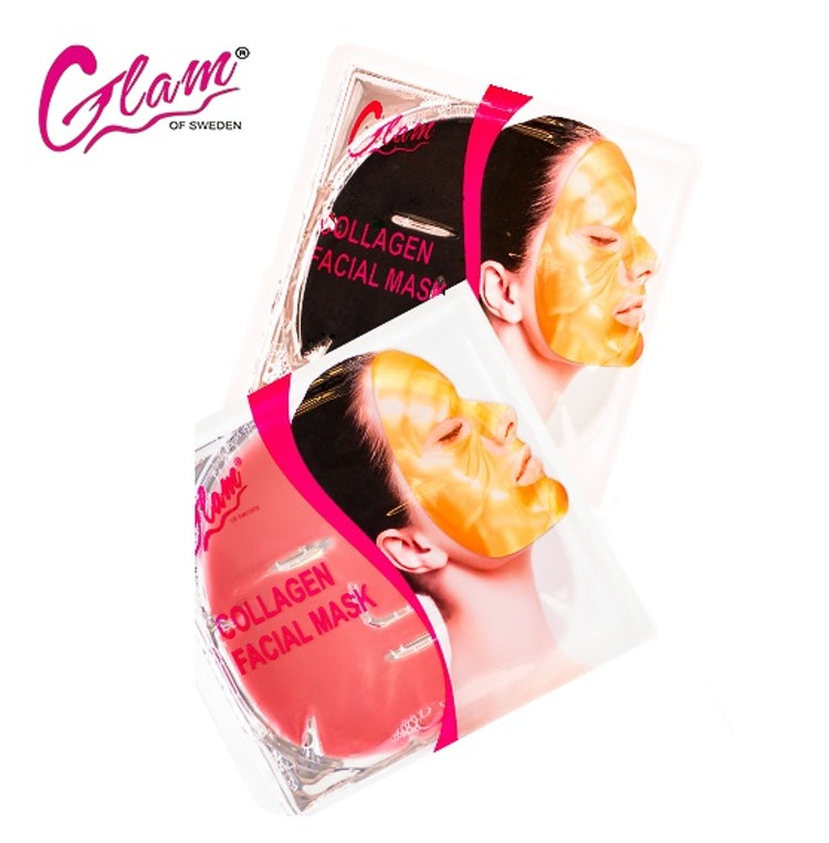 Ansiktsmask collagen, röd