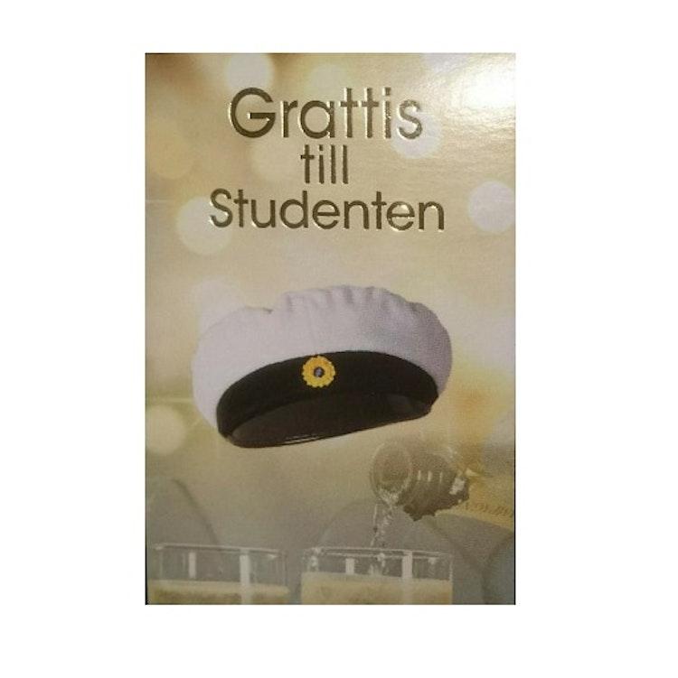 "Kort ""Student/Examen"" mössa"