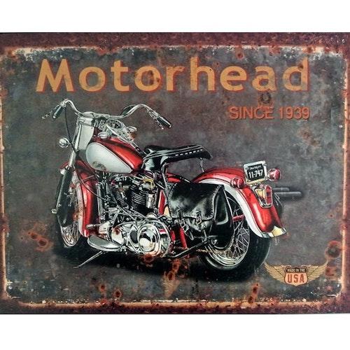 PLÅTTAVLA - MC Motorhead