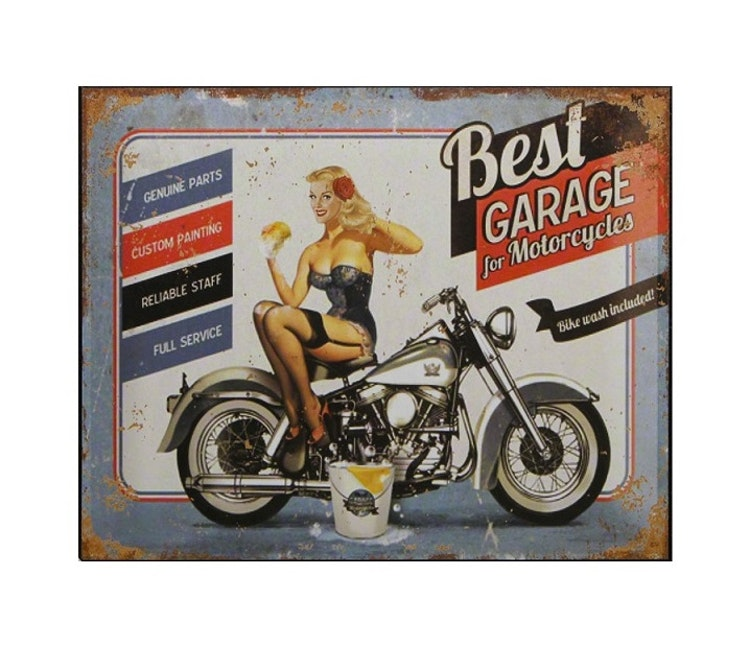 PLÅTTAVLA - MC Best Garage