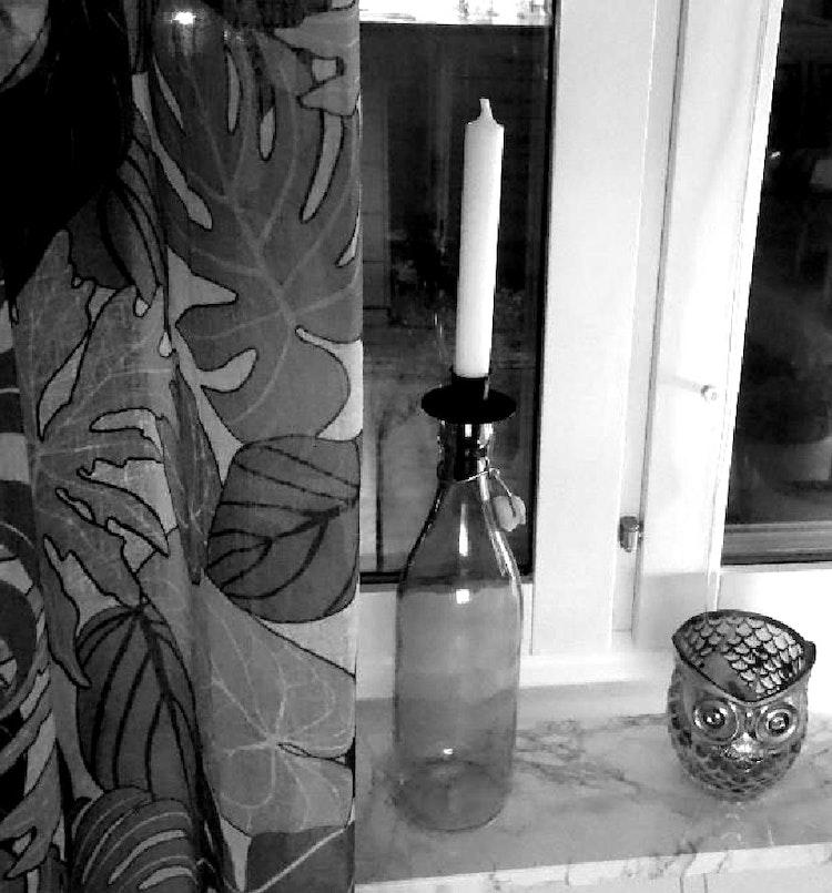 Ljushållare till flaska.