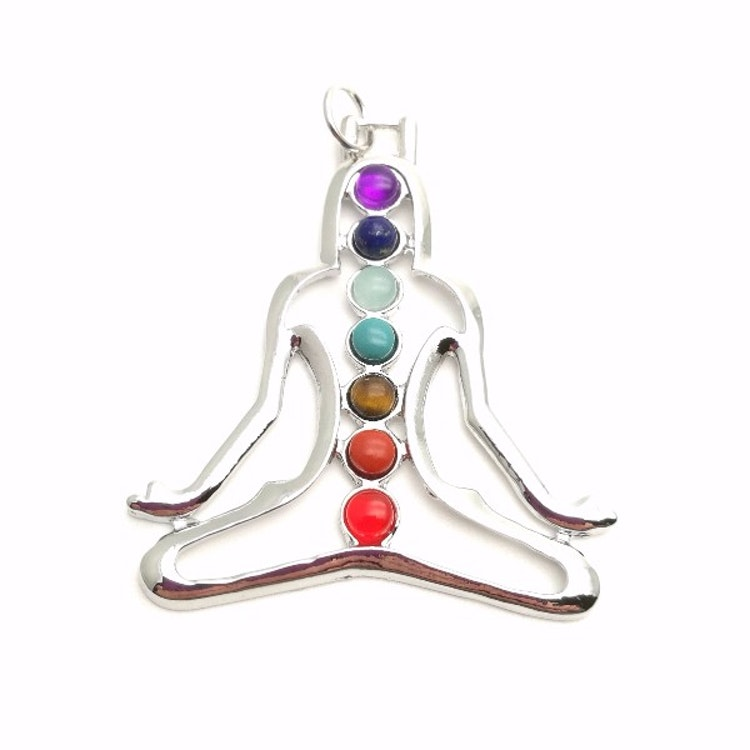 Figur/Hänge Chakra - Meditation + rem