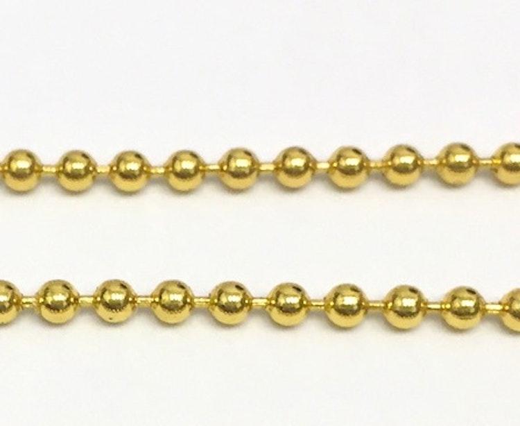 HÄNGE, halsband - ädelsten RÖD/Guld