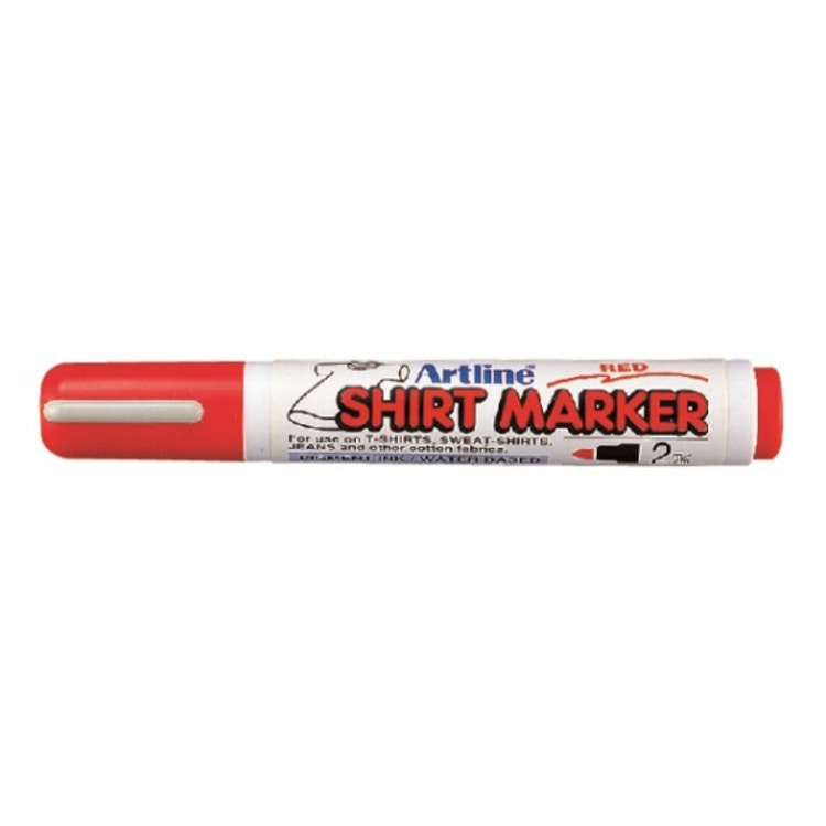 T-Shirt Marker, röd 2 mm
