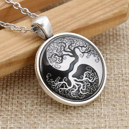 Halsband Livets träd, Ying yang