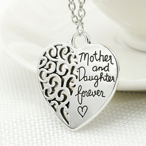 Halsband Hjärta, Mor/Dotter för alltid