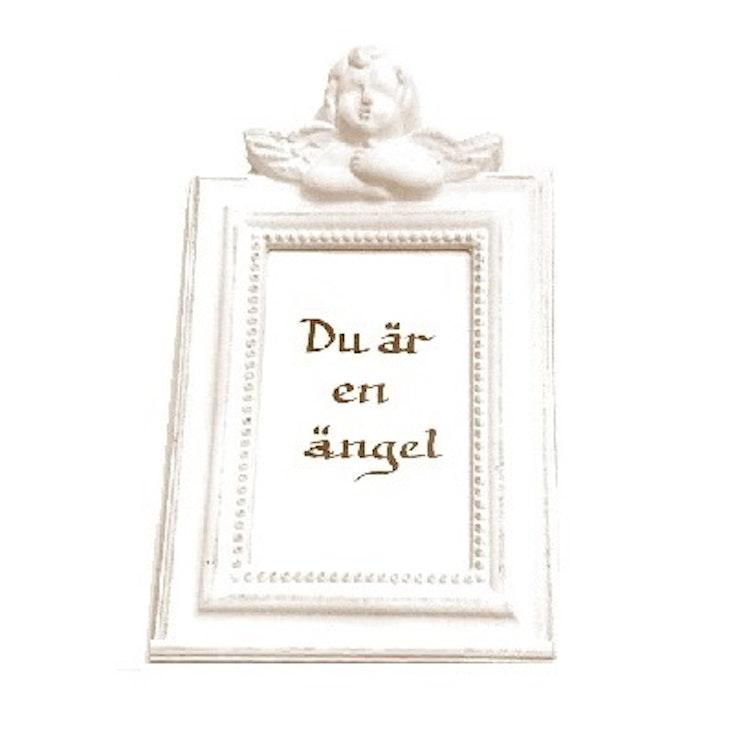 Ängelram - ängeltavla, Shabby/Lantlig