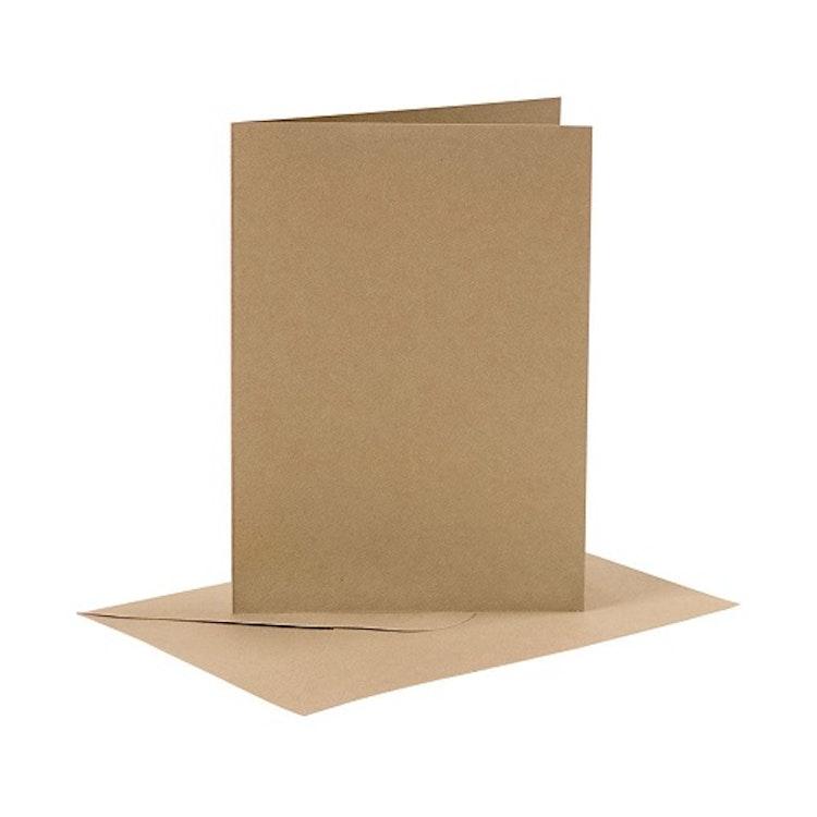 4-pack kort med kuvert