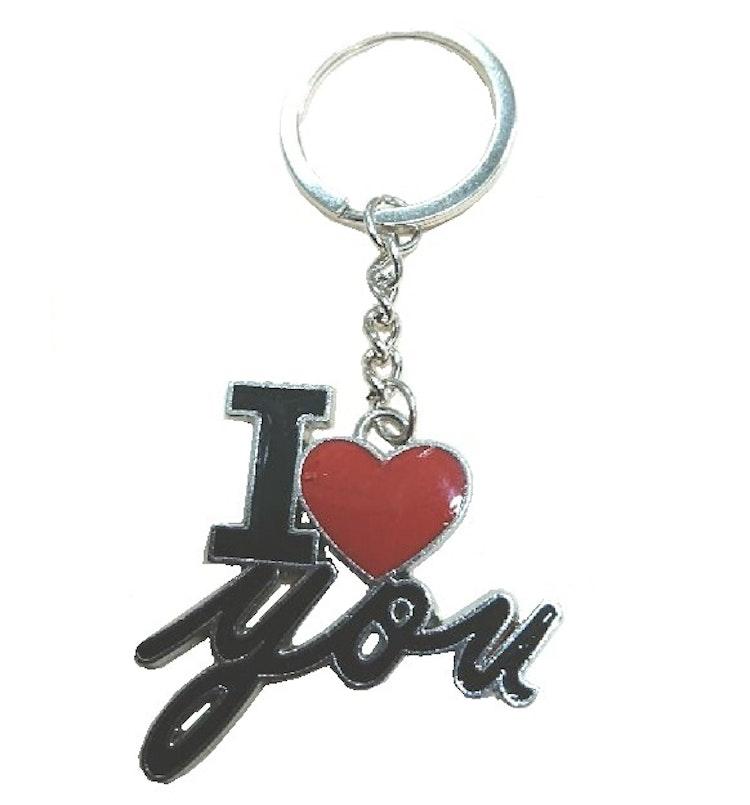 """Nyckelring """"I Love You"""""""