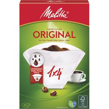 Melitta vit 1x4 Kaffefilter